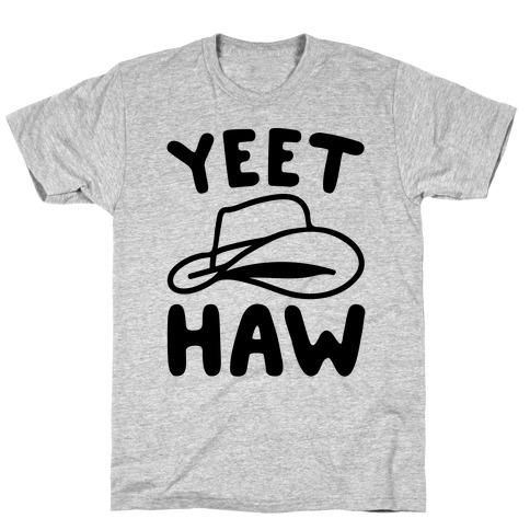 Yeet Haw Parody T-Shirt
