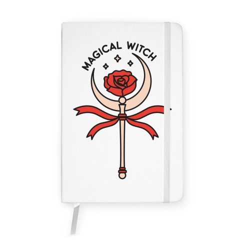 Magical Witch Wand Notebook