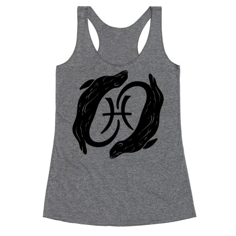 Otterly Emotional Pisces Racerback Tank Top