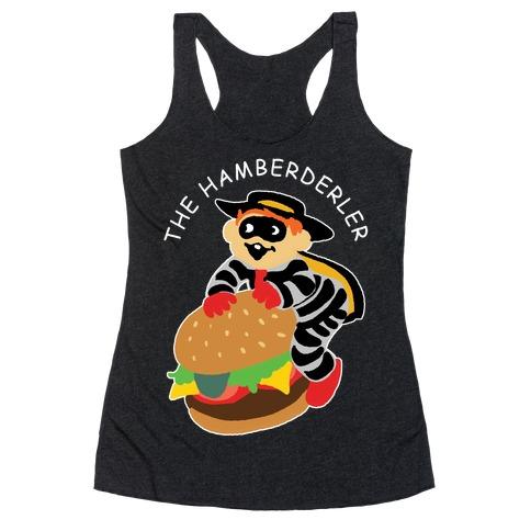 The Hamberderler Racerback Tank Top
