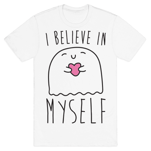 I Believe In Myself Ghost White Print