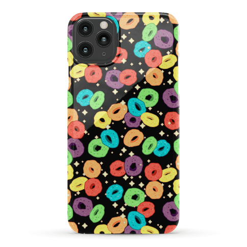 Spacey Fruity Cereal Phone Case