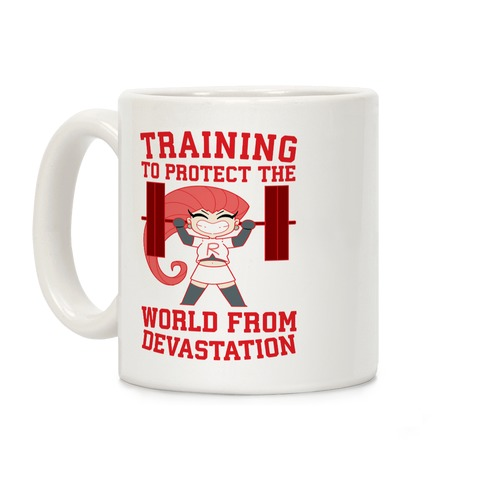 Training To Protect Our World From Devastation Coffee Mug