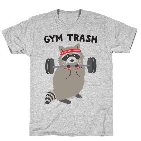Gym Trash Raccoon T-Shirt