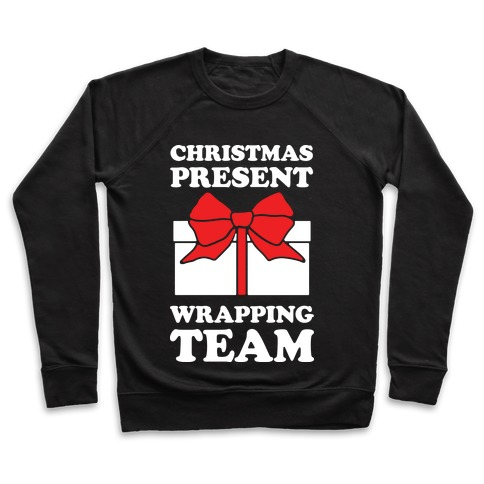 Christmas Present Wrapping Team Pullover