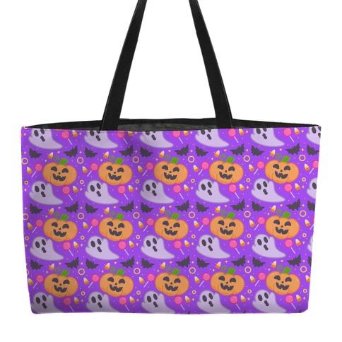 Halloween Fun Pattern Weekender Tote