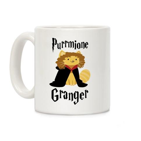 Purrmione Granger Coffee Mug