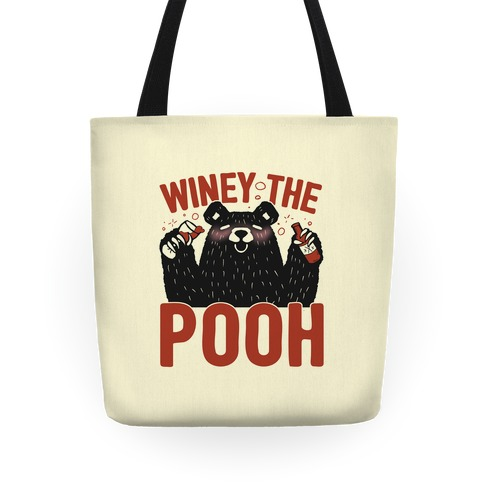 Winey The Pooh Tote