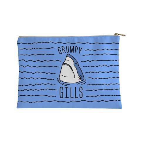 Grumpy Gills Shark Accessory Bag