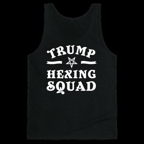 Trump Hexing Squad Tank Top