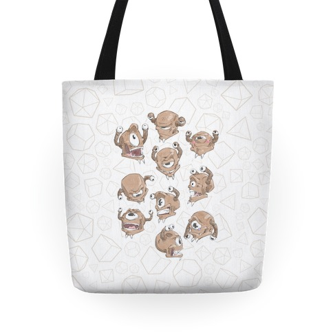 Beholder Expression Study Tote