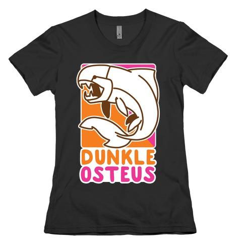 Dunkin' Dunkleosteus Womens T-Shirt