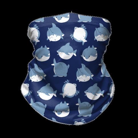 Fat Shark Pattern Neck Gaiter