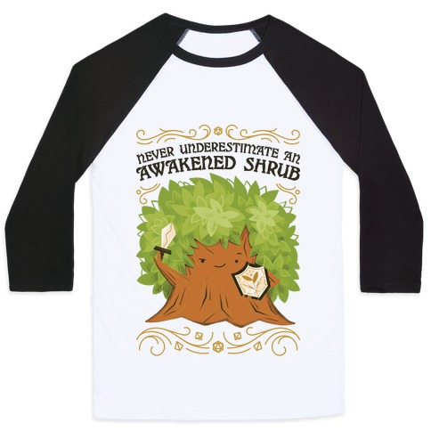 Awakened Shrub Baseball Tee