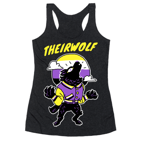 Theirwolf Racerback Tank Top