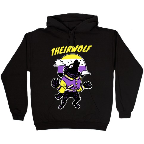 Theirwolf Hooded Sweatshirt