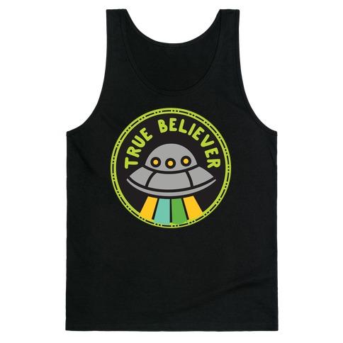 True Believer Culture Merit Badge Tank Top