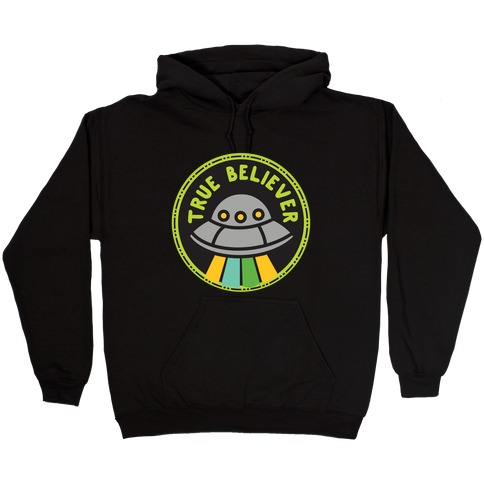 True Believer Culture Merit Badge Hooded Sweatshirt
