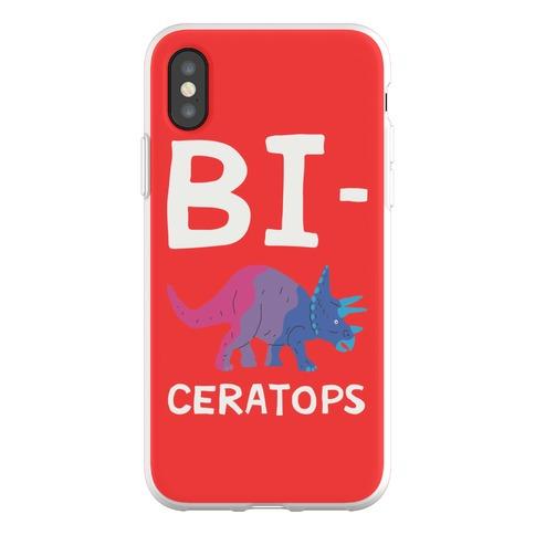 Bi-ceratops Phone Flexi-Case