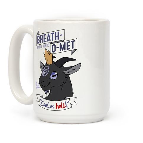 Breath-O-Met Sinful Mints Coffee Mug