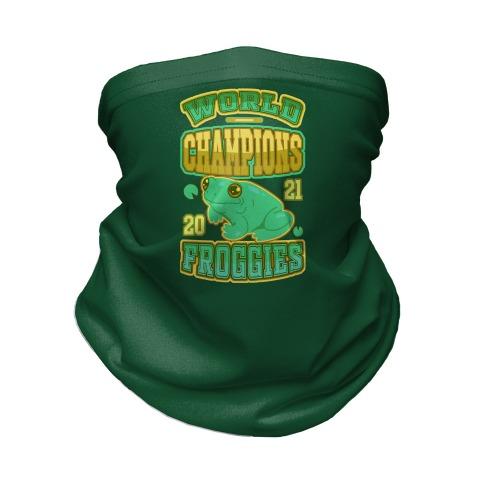 World Champions Froggies Neck Gaiter
