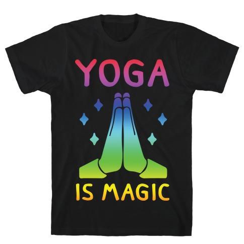 Yoga Is Magic T-Shirt