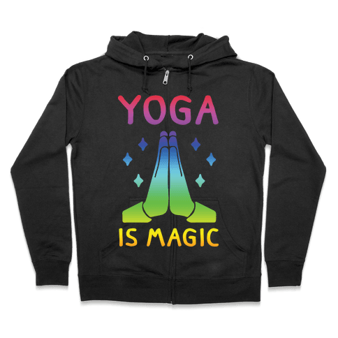 Yoga Is Magic Zip Hoodie