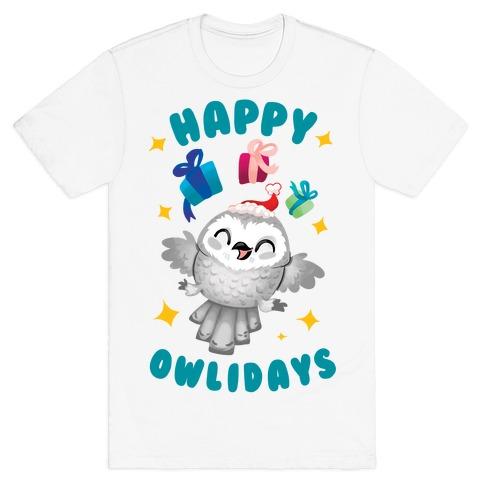Happy Owlidays! T-Shirt
