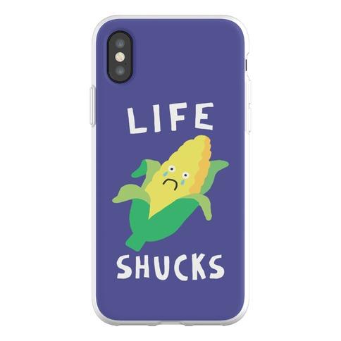 Life Shucks Phone Flexi-Case