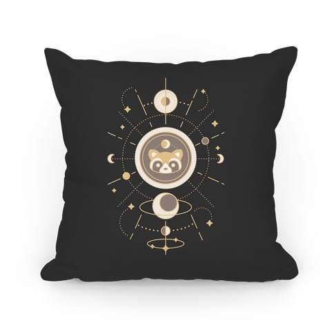 Raccoon Moon Pillow