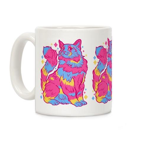 Pansexual Pride Cat Coffee Mug