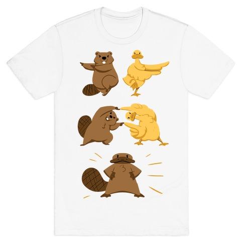 Platypus fusion dance T-Shirt