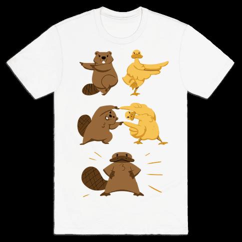 Platypus fusion dance Mens T-Shirt