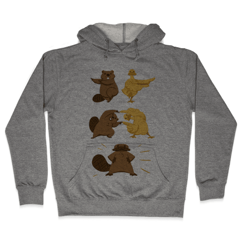 Platypus fusion dance Hooded Sweatshirt