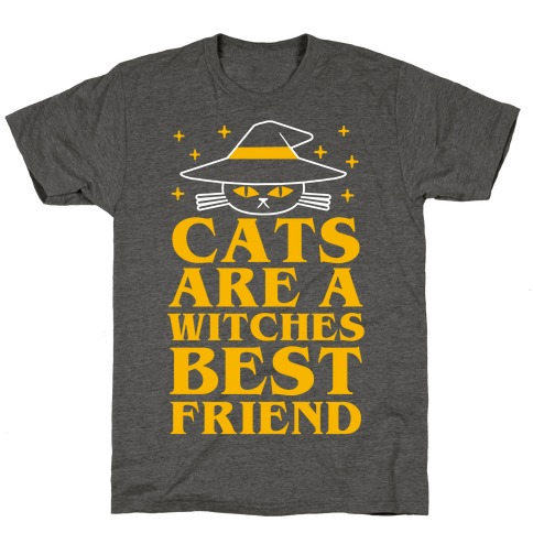 Cats are a Witches Best Friend T-Shirt