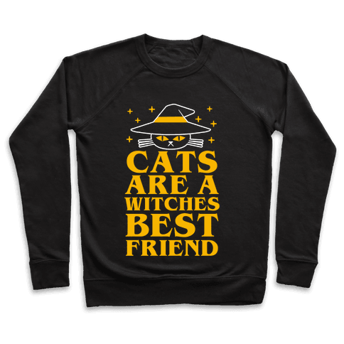 Cats are a Witches Best Friend Pullover