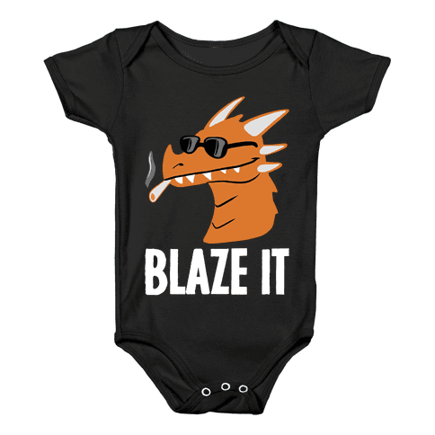 Blaze It Dragon Baby Onesy