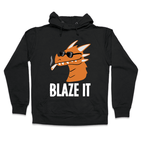 Blaze It Dragon Hooded Sweatshirt