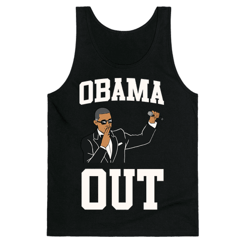 Obama Out Tank Top
