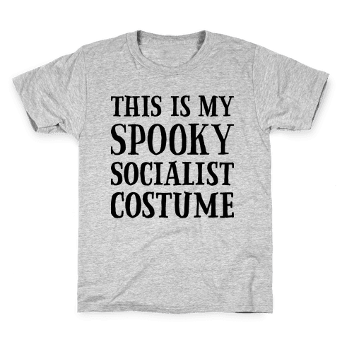 This Is My Spooky Socialist Costume Kids T-Shirt