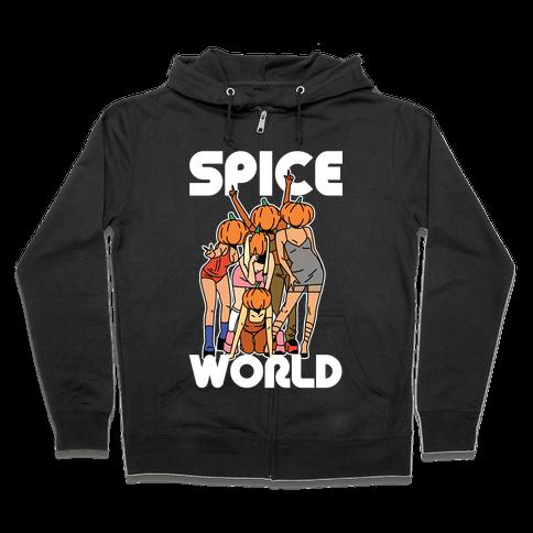 Spice World Pumpkin Spice Zip Hoodie