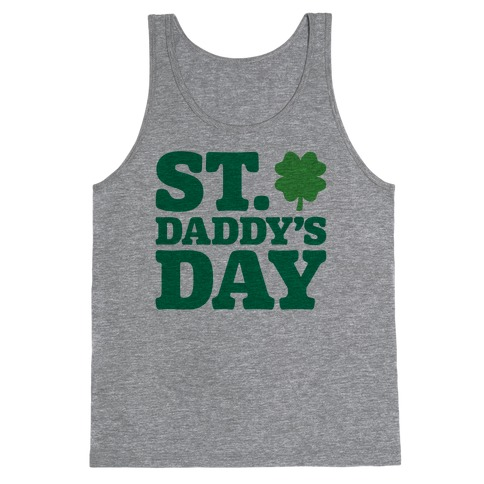 St. Daddy's Day Tank Top