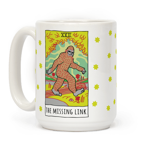 The Missing Link Bigfoot Tarot Coffee Mug