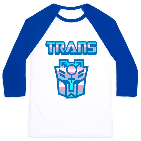 Trans Robot Baseball Tee