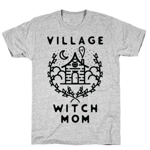 Village Witch Mom T-Shirt