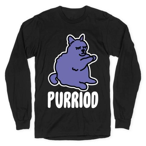 Purriod Long Sleeve T-Shirt
