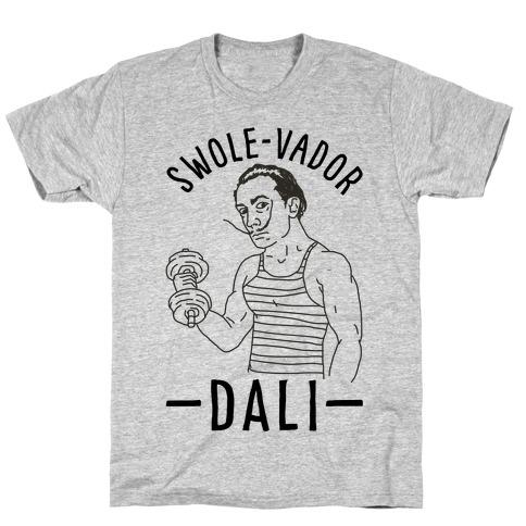 Swole-vador Dali Mens T-Shirt