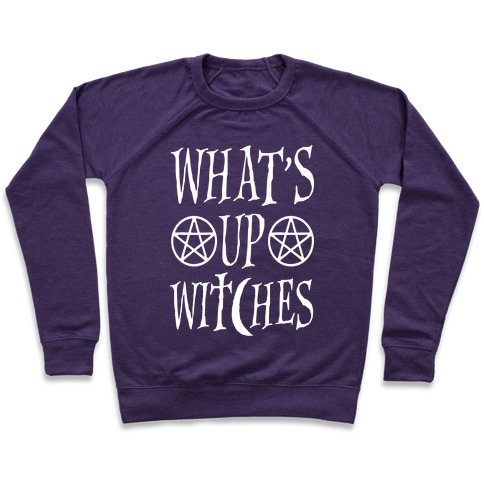 What's Up Witches Pullover