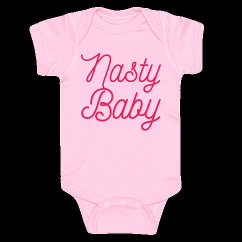 Nasty Baby Baby Onesy