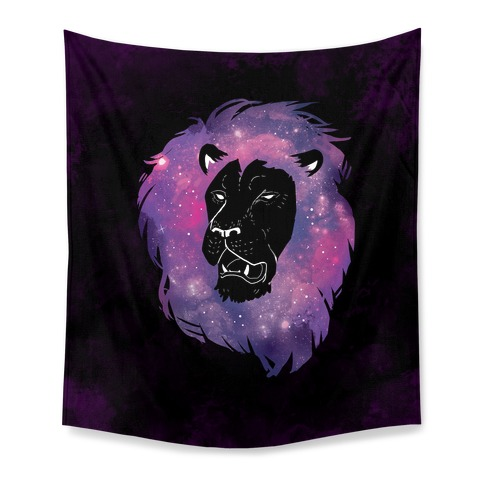 Galaxy Lion Tapestry